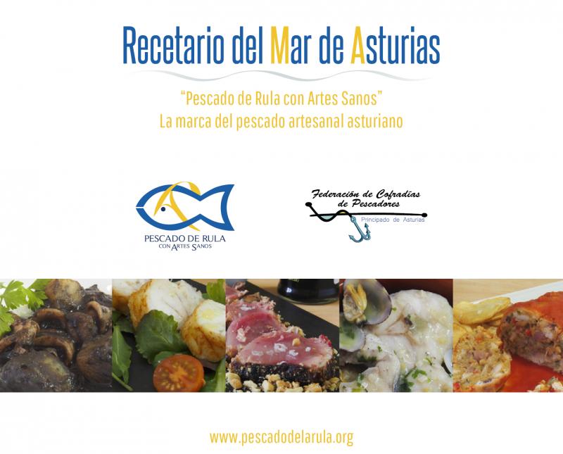 Recetario del mar de Asturias
