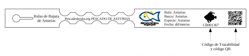 etqiueta pescado de rula con Artes Sanos