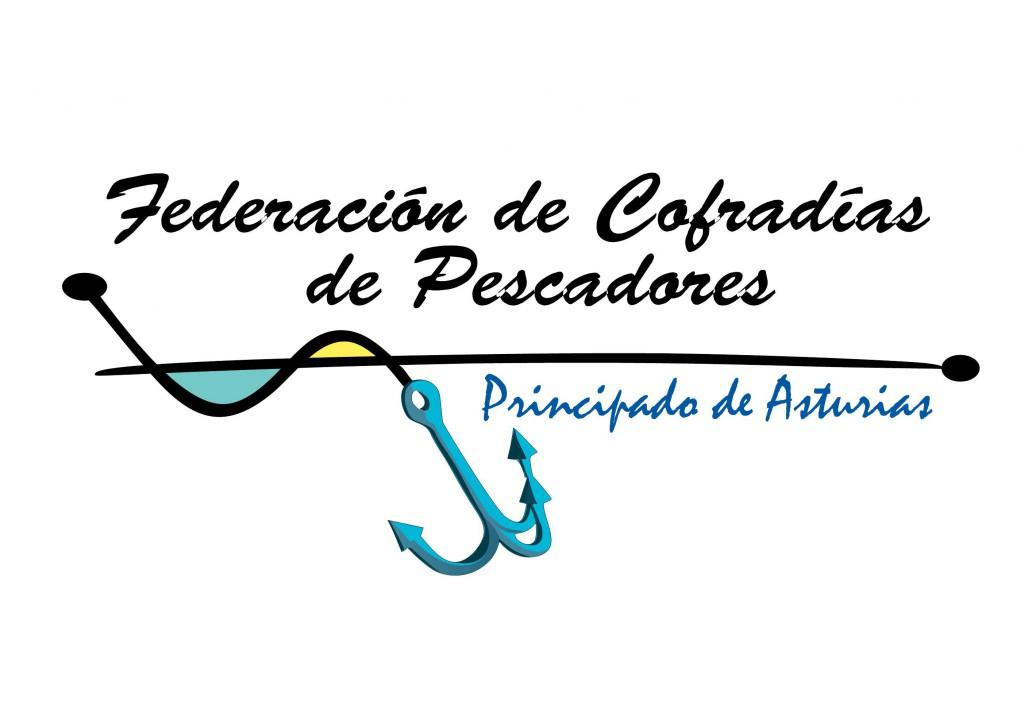 logotipo trazado federación cofradías Asturias