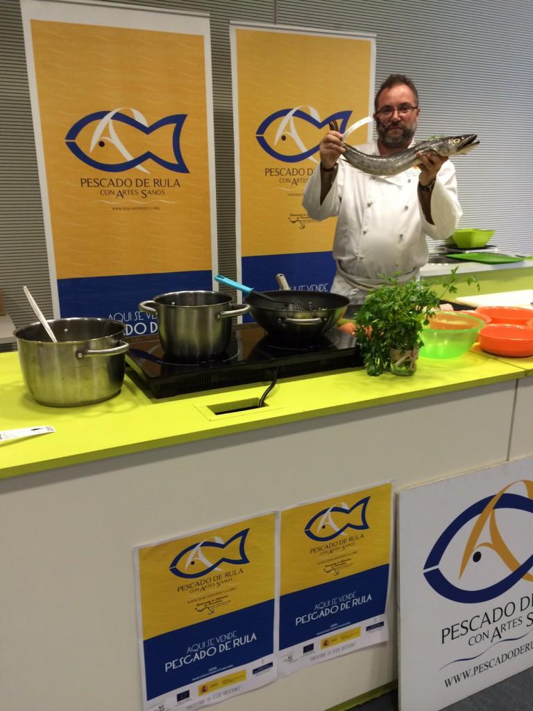 Showcooking AGROPEC 2015 pescado de rula (7)